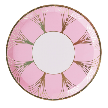 Pink Gatsby Dinner Plates