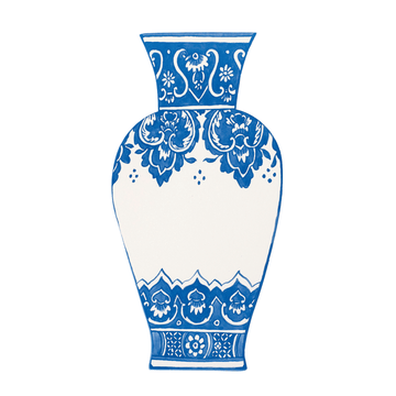 Blue China Vase Table Accents