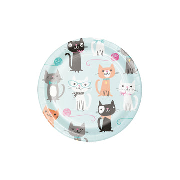 Kitty Cat Party Plates