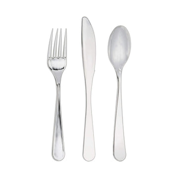 Luxe Silver Party Cutlery