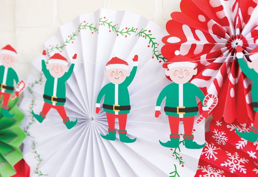 Elf Holiday Garland
