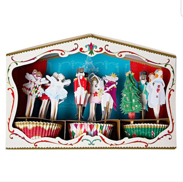 Meri Meri Nutcracker Theatre Cupcake Kit