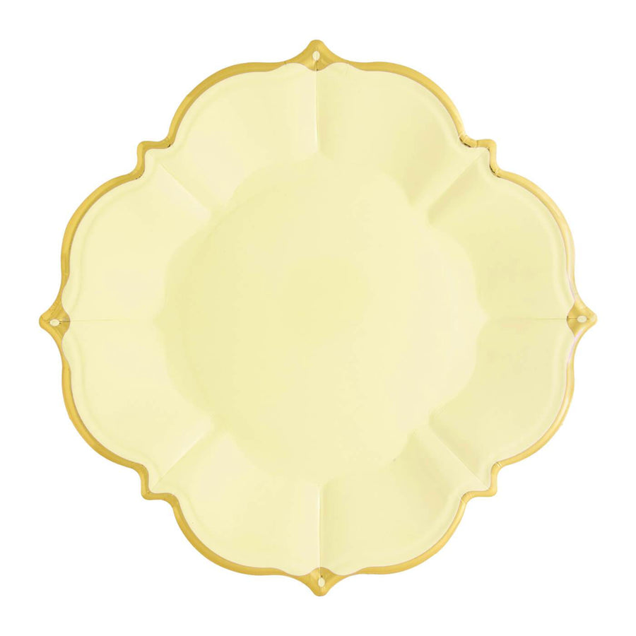 Buttercup Yellow Lunch Plates - Medium