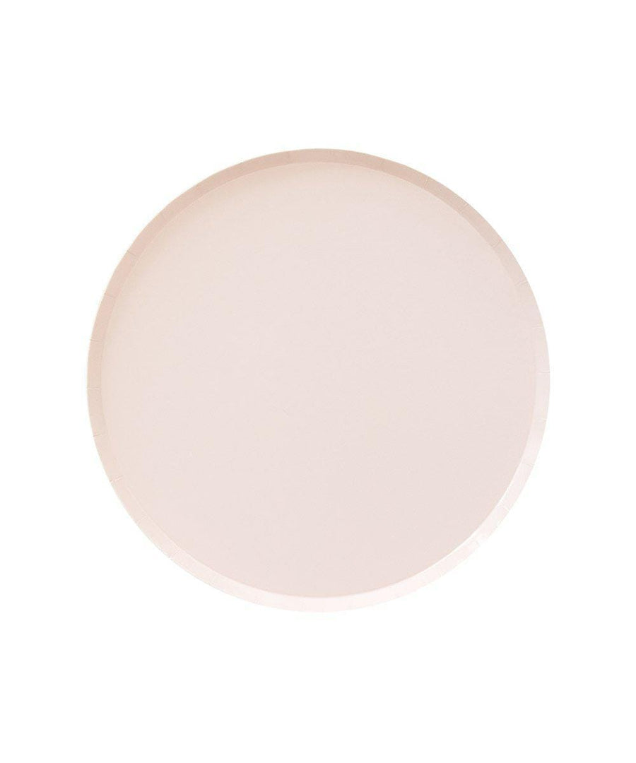 Assorted Pink Ombre Circle Plates - Small