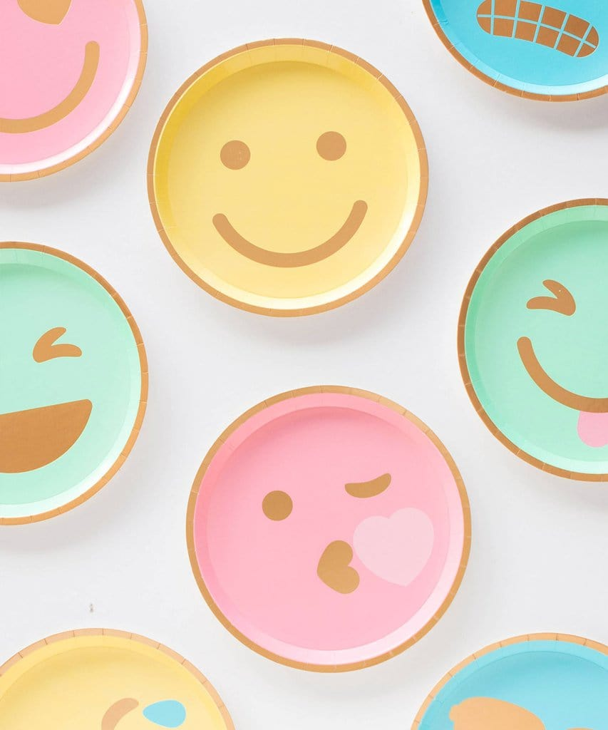Smiley Face Plates