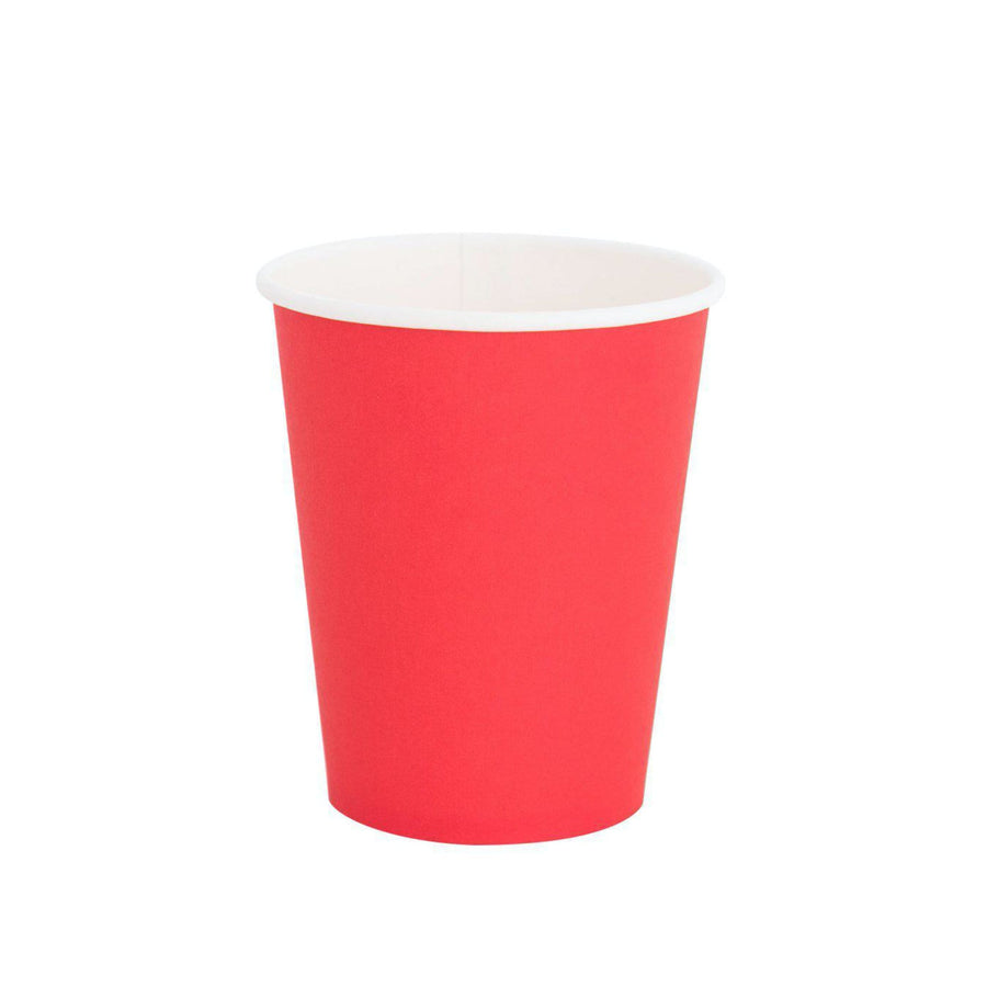 Cherry Red Solid Cups
