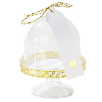 Mini Cloche Treat Stands