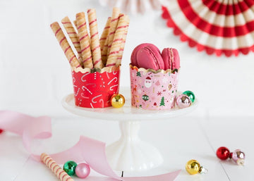 Christmas Wonderland and Candy Cane Baking Cups