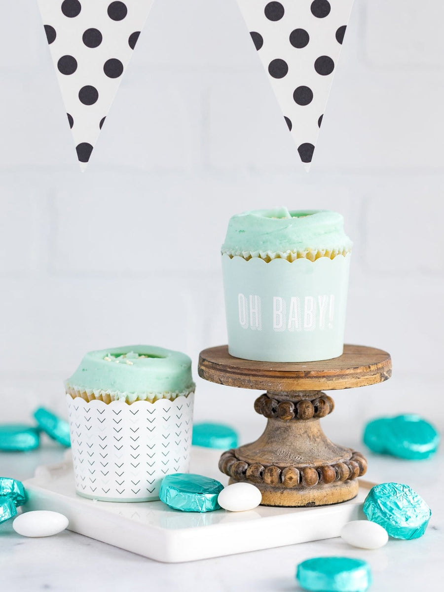 Oh Baby Pastel Blue Treat Cups - Preorder