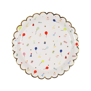 Party Pattern Plates - Large