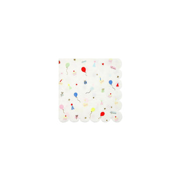 Party Pattern Napkins - Small