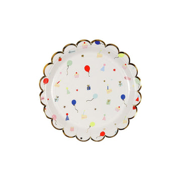 Party Pattern Plates - Small