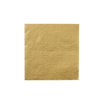 Gold Embossed Napkins