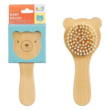 Petit Collage Little Bear Baby Brush