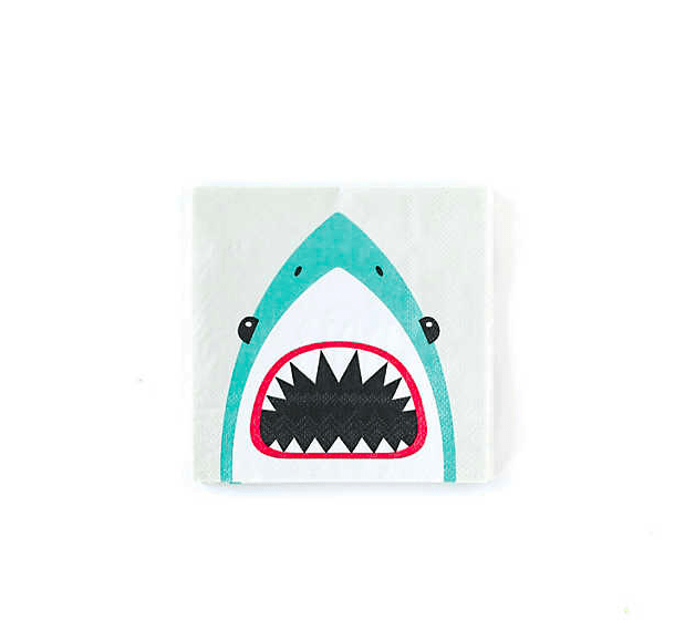 Shark Cocktail Napkins