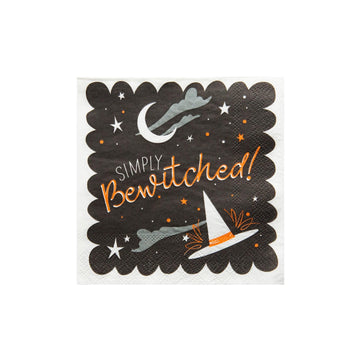 Simply Bewitched Halloween Cocktail Napkins
