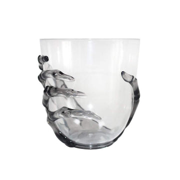 Skeleton Stemless Wine Glass