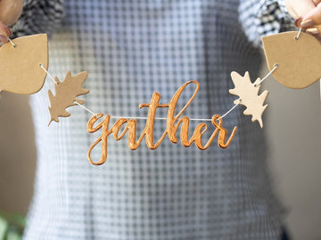 Thanksgiving Leaf Gather Garland