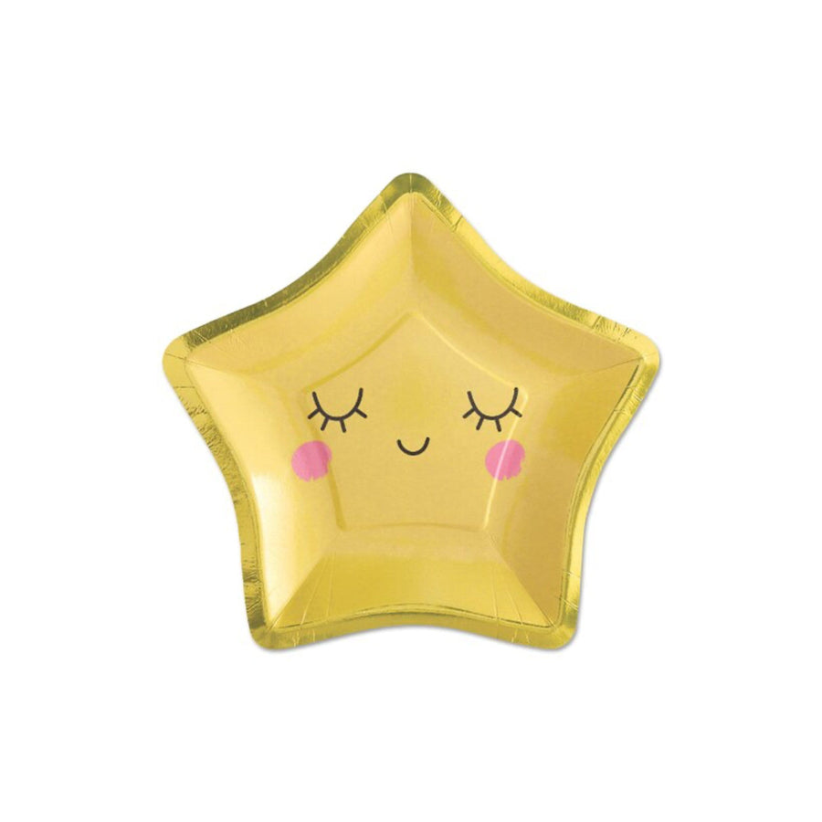 Smiling Star Plates