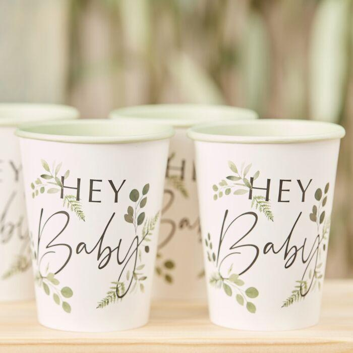 Hey Baby Botanical Cups - Preorder