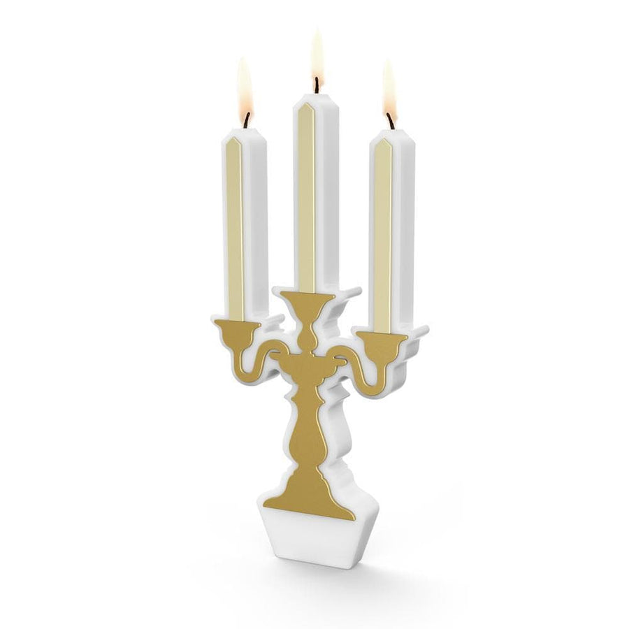 Gold Candelabra Candle