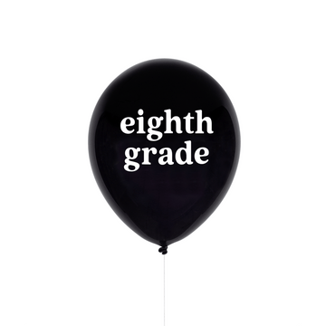 Eighth Grade Balloon