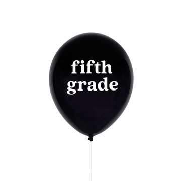 Fifth Grade Balloon
