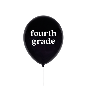 Fourth Grade Balloon