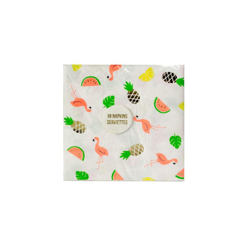 Meri Meri Tropical Flamingo Napkins