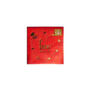Bee Mine Valentine Napkins