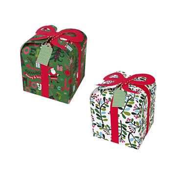 Merry and Bright Bow Gift Boxes
