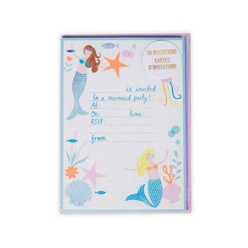 Meri Meri Mermaid Party Invitations