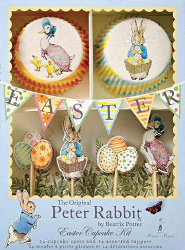 Peter Rabbit Easter Eggs Cupcake Kit