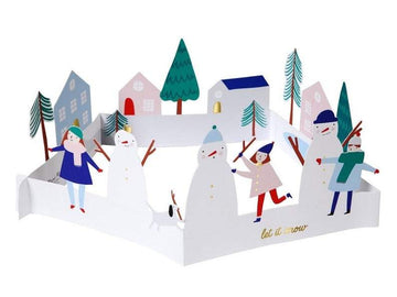 Meri Meri Let It Snow Concertina Card