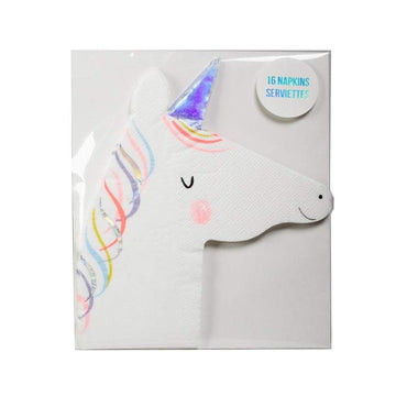 Meri Meri Die Cut Unicorn Napkins