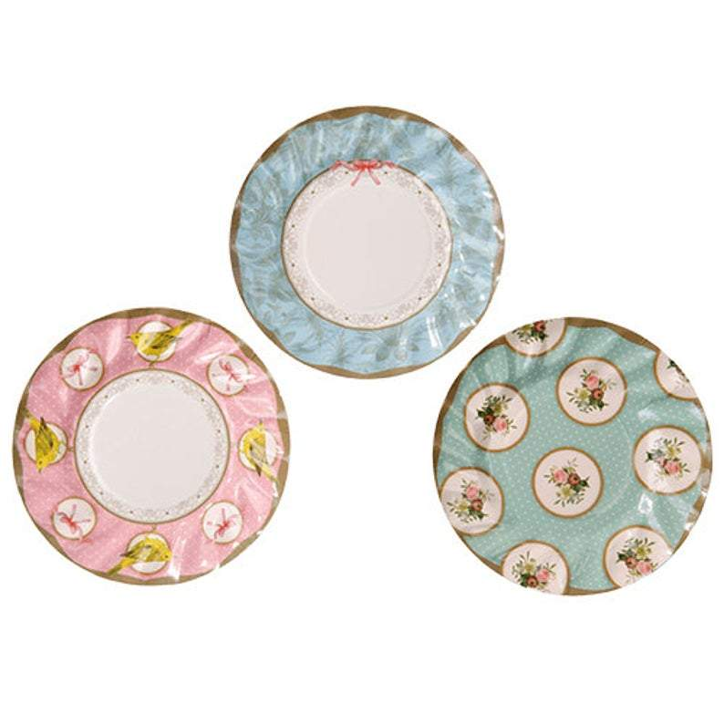 Frills and Frosting Cake Plates