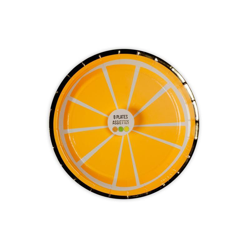 Meri Meri Citrus Lemon, Orange, Lime Plates