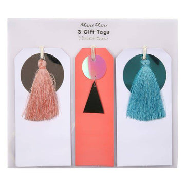 Meri Meri Sequin and Tassel Gift Tags