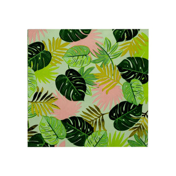 Go Wild Monstera Jungle Leaf Napkins
