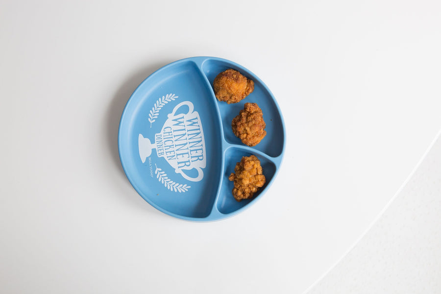Winner Winner Chicken Dinner Toddler Plate