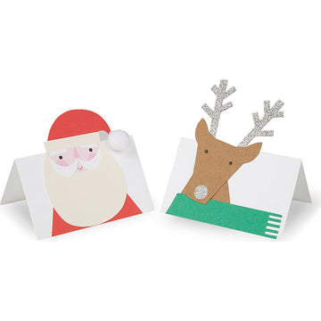 Meri Meri Santa and Reindeer Christmas Place Cards