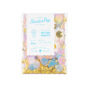 Peace and Love Flower Confetti - Mini Pack
