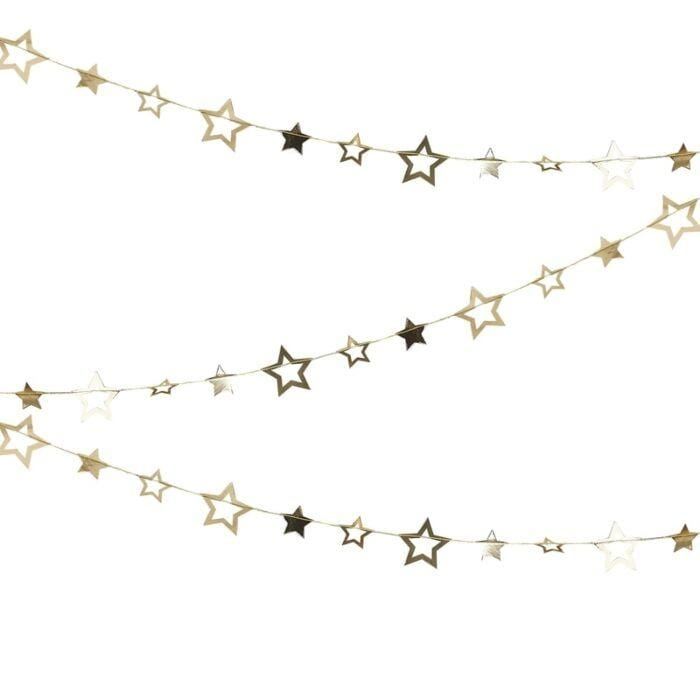 Gold Star Garland (Preorder)