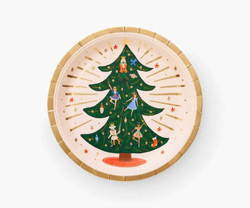 Rifle Paper Co Nutcracker Plates