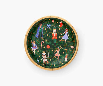 Nutcracker Holiday Plates - Small