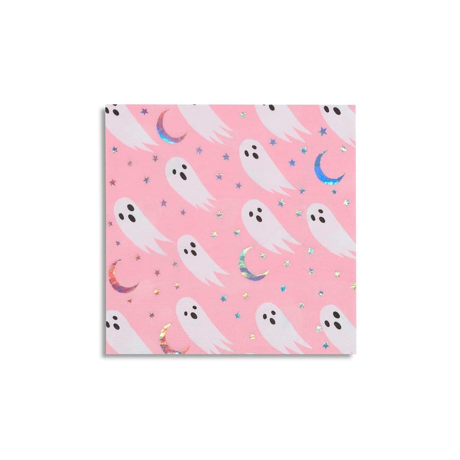 Pink Ghost Napkins - Large