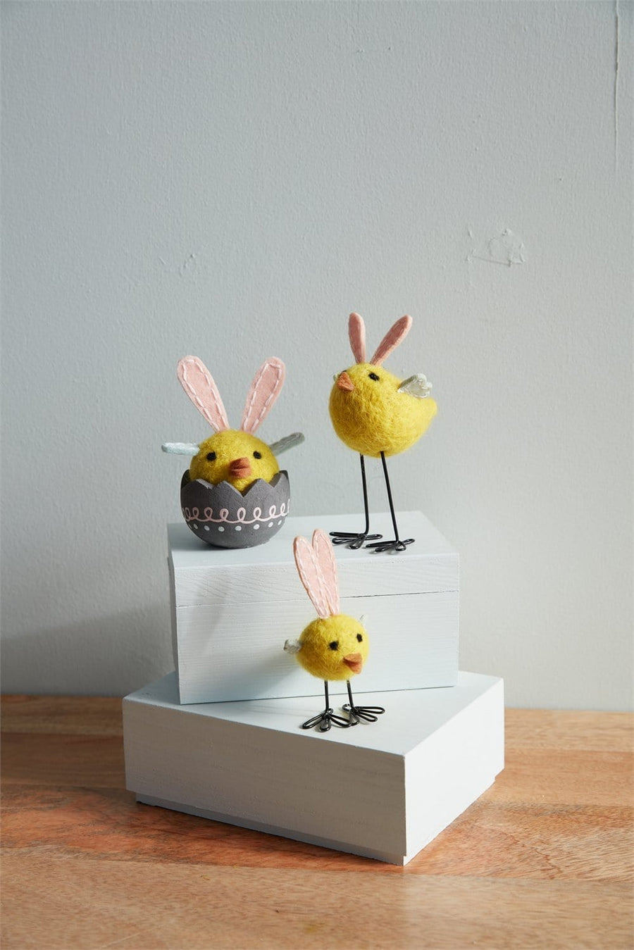 Bunny-Eared Chick Figurine - Egg (Coming Soon)