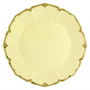 Buttercup Yellow Dinner Plates - Large