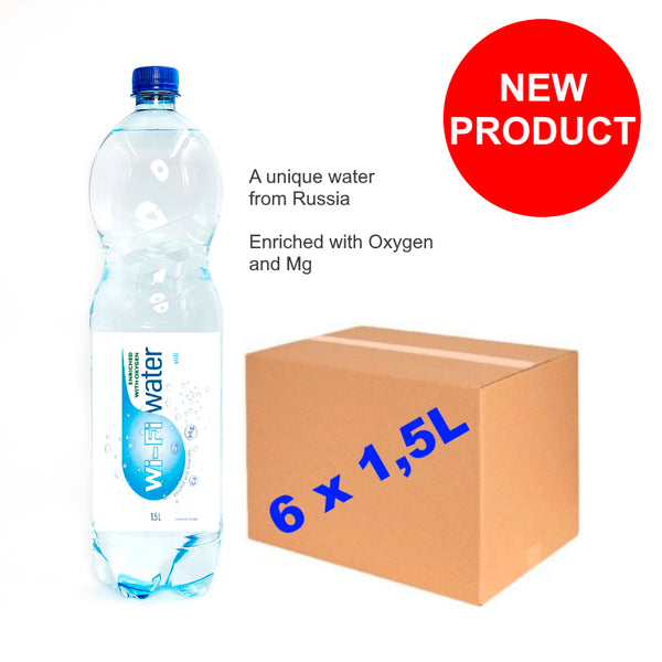 Wi-Fi Water 1,5L x 6pcs