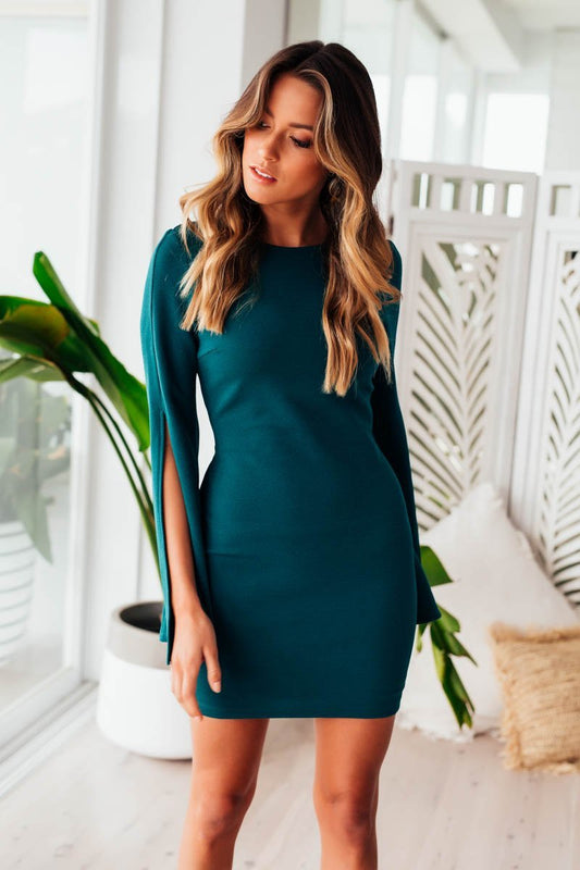 Pascal Mini Dress- Green